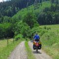 Unterwegs im Schiefergebirge, Thüringen.