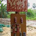 Thailändische Tombola, bei der Bevölkerung sehr beliebt.