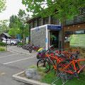 Der Top10 Campingplatz in Christchurch ist für uns ideal, um die Weiterreise zu organisieren.