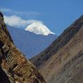 Der erste Schneegipfel der Cordillera Blanca!