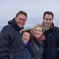 Sehnlichst erwarteter Besuch aus der Schweiz: Tochter Alexandra und Lebenspartner Christian