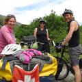 Irene und Deon aus Australien treffen wir am Lake Wanaka.