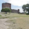 """Die Burg """"Hammershus"""" wurde im 12. Jahrhundert erbaut und war sehr gross."""