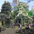 Angkor, die riesige, weltberühmte Tempelruinen-Stadt zieht jedes Jahr Millionen Besucher aus aller Welt an.