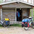 Auf dem Campingplatz vor Ivalo.