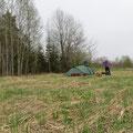 Campieren wo sich Fuchs und Hase gute Nacht sagen.