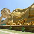 Liegender Buddha in Bago.