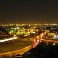 Shiraz bei Nacht.