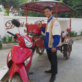 Unser zuverlässiger Tuck-Tuck-Fahrer in Siem Reap.