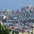 Busan, grösste Hafenstadt in der Republik Korea.
