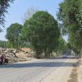 Ganze Strassenzüge werden abgerissen um Neubauten Platz zu machen.