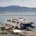 Unsere Fähre nach Istanbul