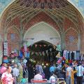Ein Eingang zum Basar.