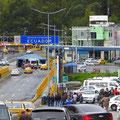 An der Grenze zu Ecuador.