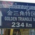 Das Goldene Dreieck, bekannt für den Anbau von Schlafmohn zur Opiumherstellung.