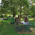 Leider war der Zeltplatz in Aratula sehr laut.