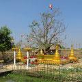 Heilige Orte zum Beten und Meditieren finden sich häufig.