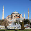 Berühmt - die Hagia Sophia