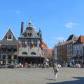 In der Kleinstadt Hoorn.
