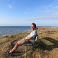 Angekommen in Dänemark bei Sonnenschein - wenn das kein gutes Ohmen ist!