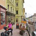In der schönen Altstadt von Banska Stiavnica.