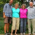 In Mt. Somers auf dem Zeltplatz treffen wir Elisabeth und Werner aus der Schweiz, mit denen wir ein paar sehr angenehme Stunden verbringen.