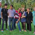 Reza und Verwandschaft - wir erleben lustige Stunden zusammen.