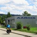 Der Überraschungsbesuch bei unserem Fahrradhersteller ging voll in die Hose: Betriebsferien.