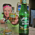 Bier wird in China normalerweise nicht kalt getrunken. Gewöhnungsbedürftig . . .