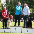 Siegerehrung GL 5000m, AK 51
