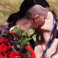 Extravagante Trauung Hochzeit