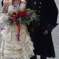 Extravagante Brautmode
