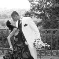 Farbige Brautmode
