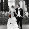 Brautmode schwarz.weiß