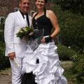 Weißer Anzug Bräutigam