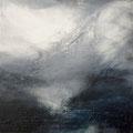 Blue Dimension 1, acrylic on canvasboard 30x30, framed