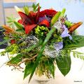 Blumenstrauss in Vase