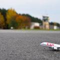 Flugplatz Weiden Latsch, erste Airbuslandung! (Foto: Žaneta Weidner)