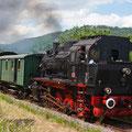 Dampfzug in der Fränkischen Schweiz (Foto: Uwe Kragl)