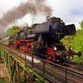 BR52 auf der Strecke zwischen Eger und Marktredwitz (Foto: Uwe Kragl)