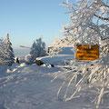 ... wegen Überfüllung geschlossen! (Foto: Karin Bäumel)