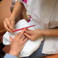 oins des mains Maison de retraite COSNAC Unité Alzheimer