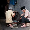 Herstellung eines Gongs / Bogor