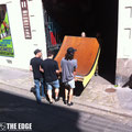 THE EDGE skatepark Design & construction - 10 ans de Click Skatestore et Milk à Pol'N