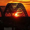 Mississippibrücke bei Memphis; Foto: Rudi Franck