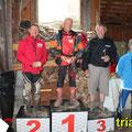 Pre65 Clubman: vlnr. Diestinger E., 2. Diestinger E., 1. Rolf B., 3. Pölz H., Wagner A. www.trials.at