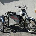 Kawasaki Trialgespann