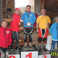 Trialteam Traisental Sonderwertung: Diestinger E., 2. Gansterer R., 1. Kielmannsegg P., 3. Wedl G. Image: www.trials.at