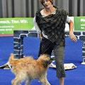 Rita + Fanouk, SUPER, 3. Platz Dogdance Freiburg i.B.