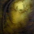 'Perpetuus transitus II', 200x150cm, graphite, acrylic, canvas, signed 1994, not for sale